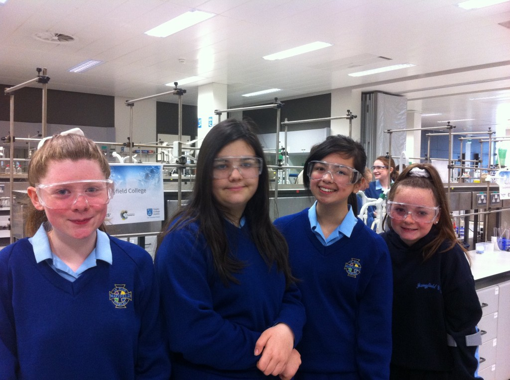 Students who attended Salters Science Event