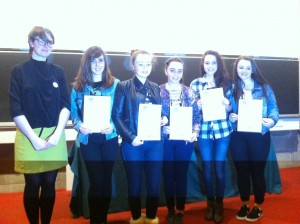 Trinity College maths and Leadership Awards