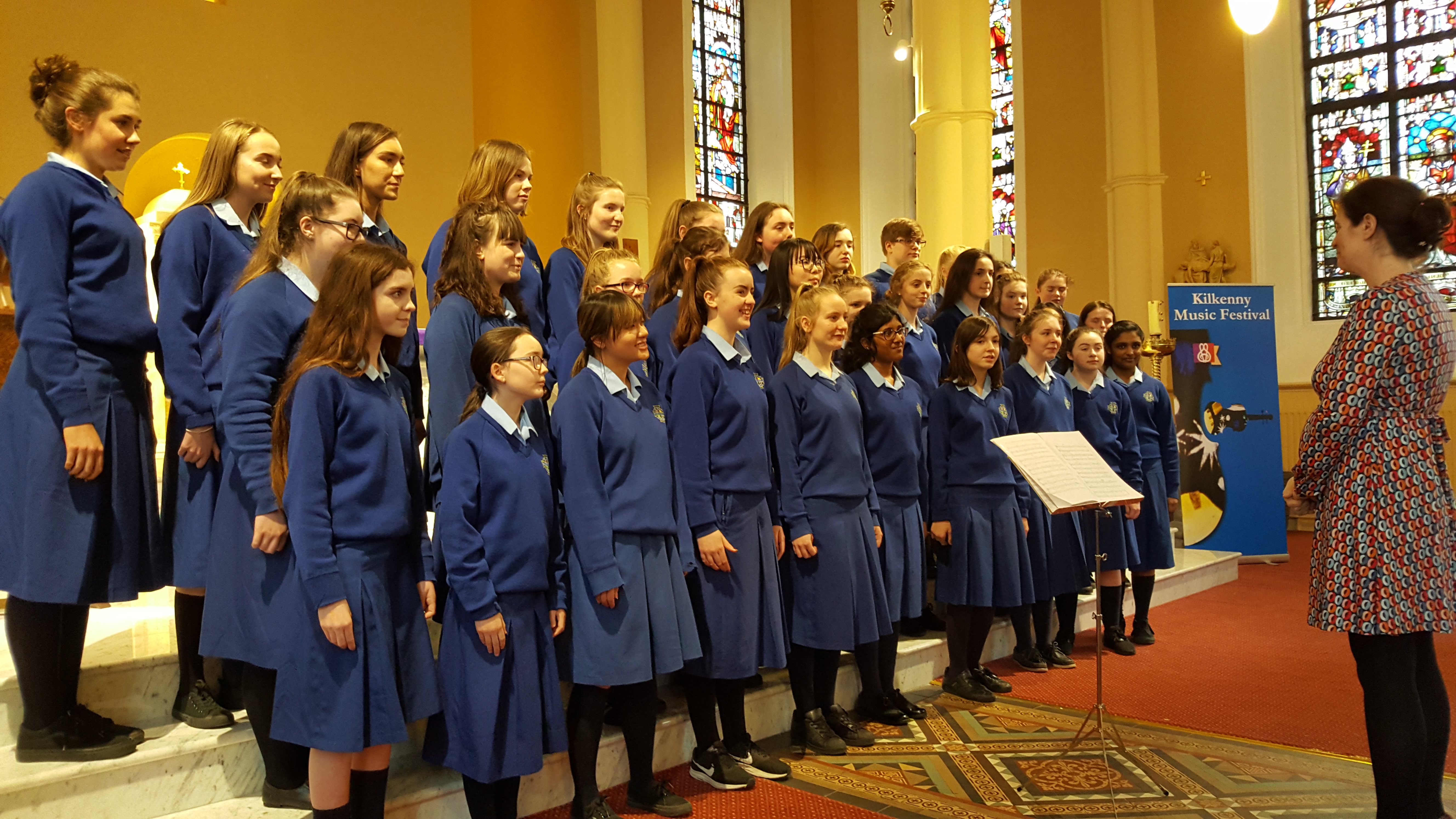 Maryfield Choir at Kilkenny Music Festival 2