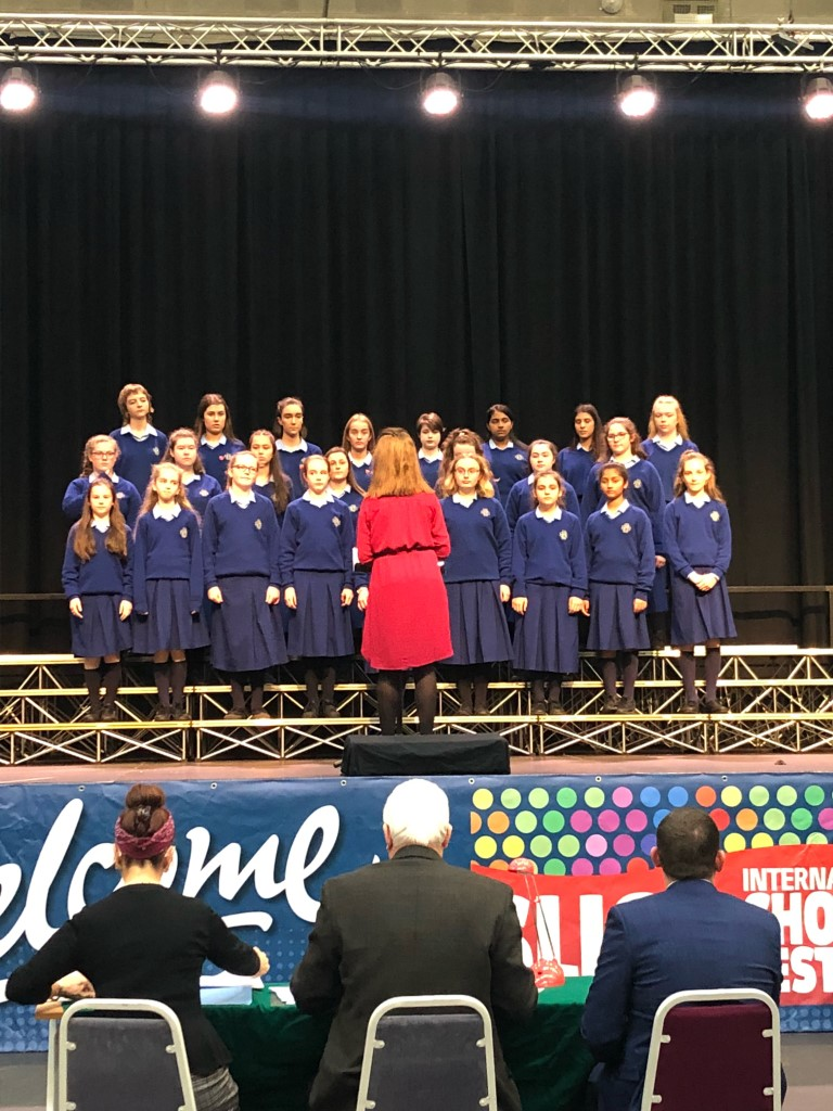School Choir at Sligo Feis 1